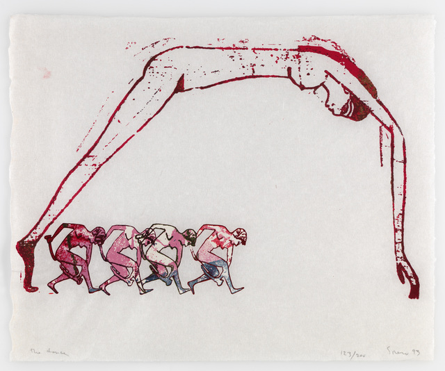 Nancy Spero, 'The Dance', 1993, ICA London Benefit Auction