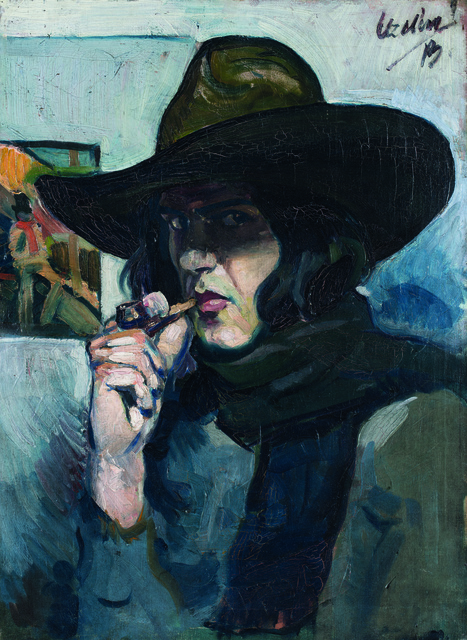 , 'Self-portrait   ,' 1913, Museum of Modern Art Dubrovnik