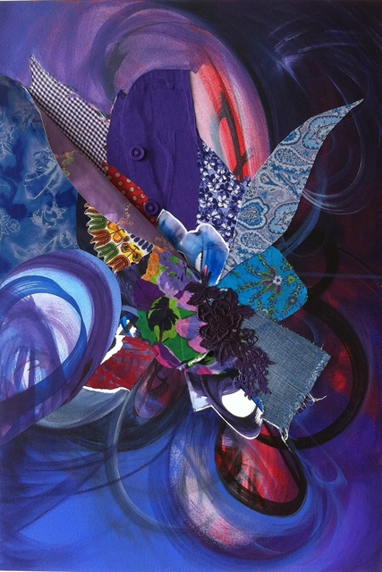 Shinique Smith, ' The Purple between Us', 2011, Brand New Gallery