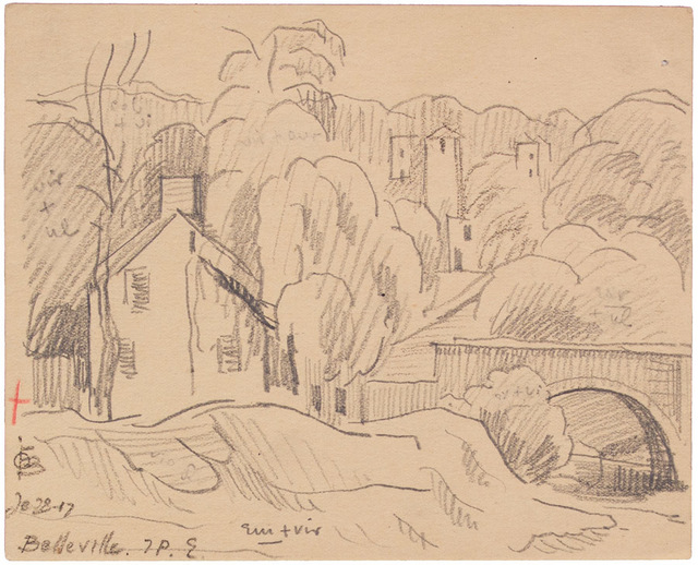 , 'BELLEVILLE,' 1917, Jerald Melberg Gallery