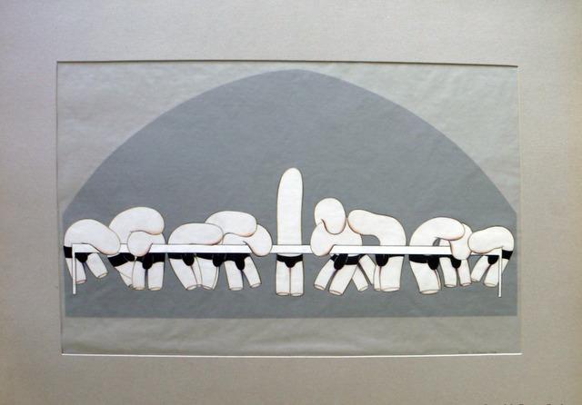 , 'Trnkene Jünger II,' 1974, Galerie Steinek