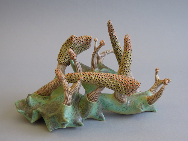 , 'myxomycetes muscari,' 2017, Rhona Hoffman Gallery