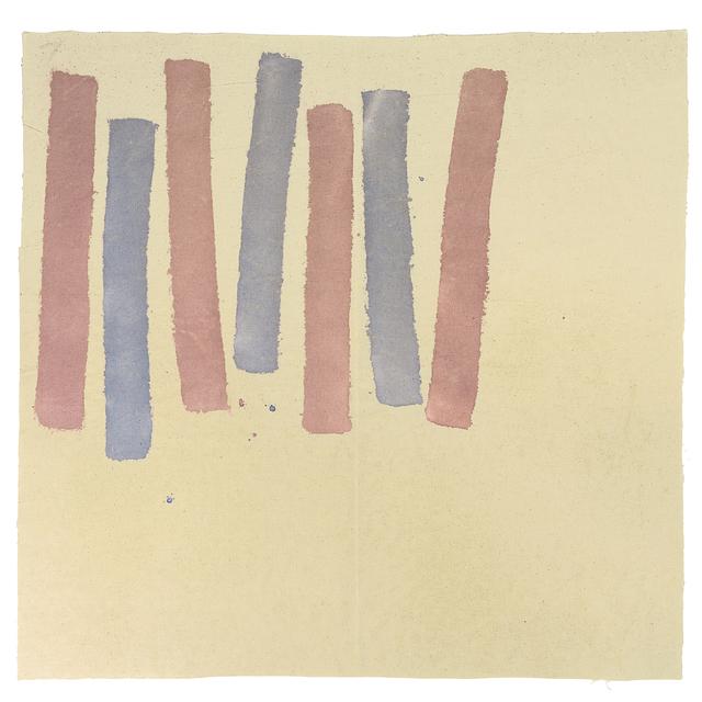 Giorgio Griffa, 'Due colori', 1977, Valmore Studio d'Arte