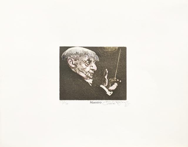 Charles Bragg, 'MAESTRO', Unknown, Print, ETCHING, Gallery Art