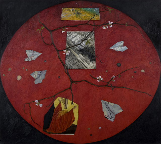 , 'Red Table II,' 2004, A.I.R. Gallery