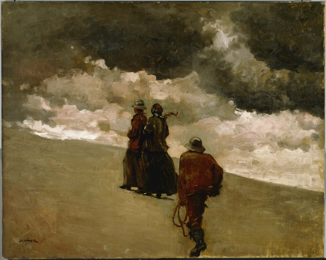 Winslow Homer, 'To the Rescue', 1886, Phillips Collection