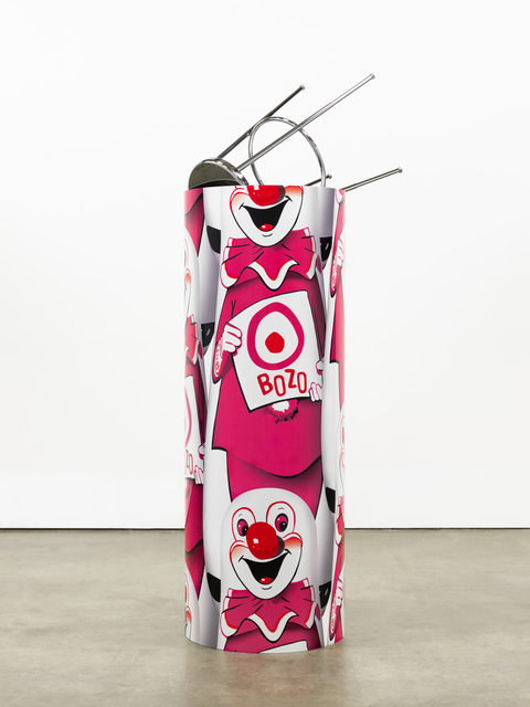 ", '""Bozo""™ ""The World's Most Famous Clown"" Bop Bag with Occasional Performance (Pink Variation),' 2014, Nasher Sculpture Center"