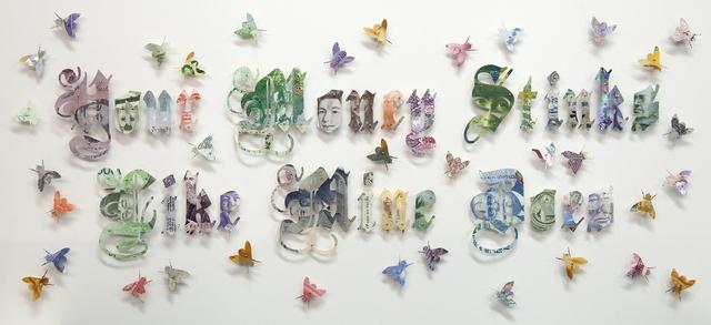 , 'Your Money Stinks Like Mine Does,' 2013, Mario Mauroner Contemporary Art Salzburg-Vienna