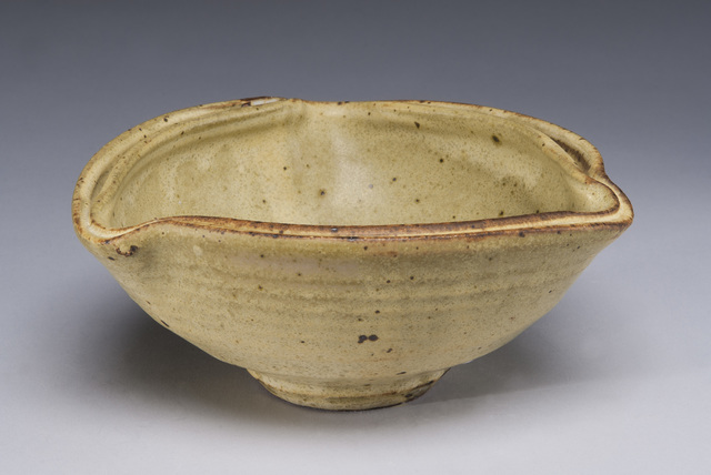 , 'Yellow Curved Bowl, Double Rim,' , LACOSTE / KEANE GALLERY