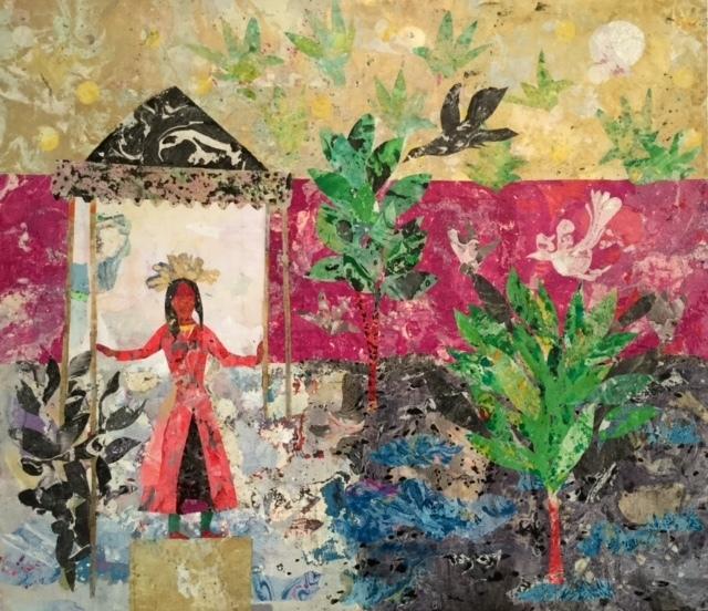 , 'The Royal Garden,' 2017, Tabari Artspace