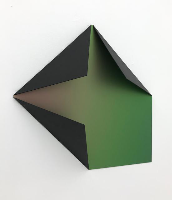 Sébastien de Ganay, 'Black Flip Flop Folded Flat 02', 2020, Sculpture, Aluminium, lacquered, interference protective clear, galerie burster