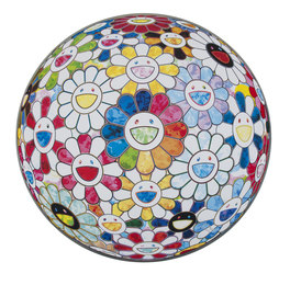 Takashi Murakami, 'Scenery With A Rainbow In The Midst,' 2014, Julien's Auctions: Street Art Now November 2016