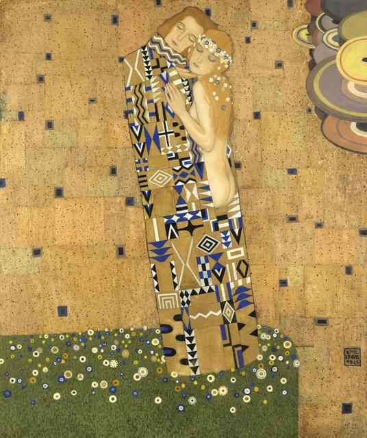 Emil Krauss, 'The Couple', 1925, Galerie Kovacek