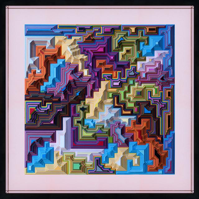 , 'Geometric 1,' , Flinders Lane Gallery