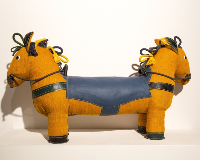 , 'Therapeutic Toy Double-Face Pony in yellow, designed and made by Renate Müller,' 2015, R & Company