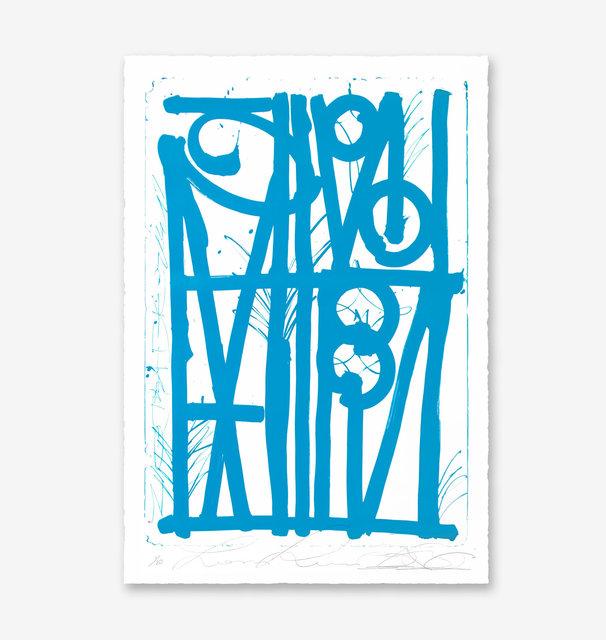 , 'LUDAVICO & LUDOVICO (Blue Edition),' 2018, Maddox Gallery