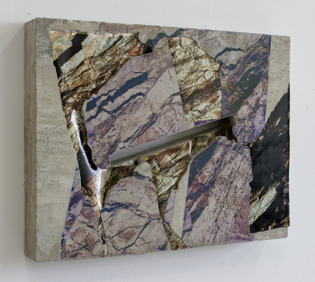 Letha Wilson, 'Fisherman's Cove Slash Concrete Bend', 2015, Galerie Christophe Gaillard