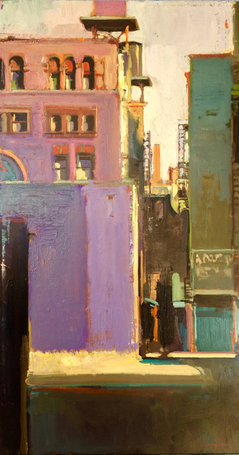 , 'Deep Alley,' 2017, Sue Greenwood Fine Art
