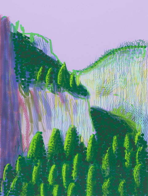 ", '""Untitled No.11"" from ""The Yosemite Suite"",' 2010, Pace Gallery"