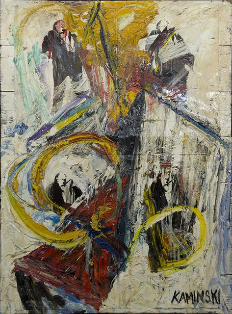 , 'Men in Painting #2,' 2016, Walter Wickiser Gallery
