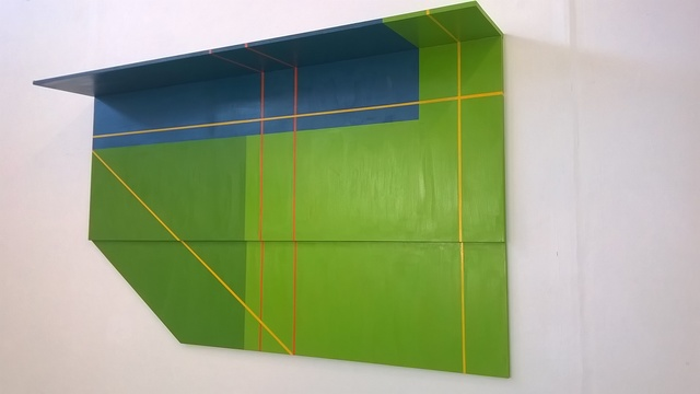 , 'Green,' , Mall Galleries