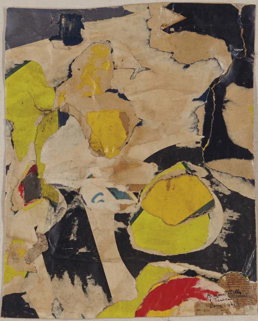 , 'Senza titolo,' 1958, Robilant + Voena