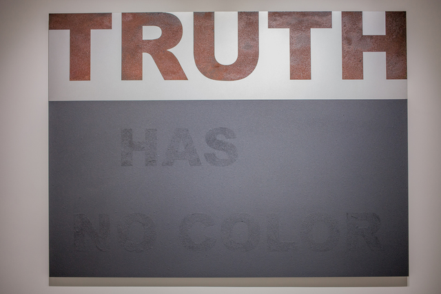 , 'Truth has no color,' 2017, Quint Gallery