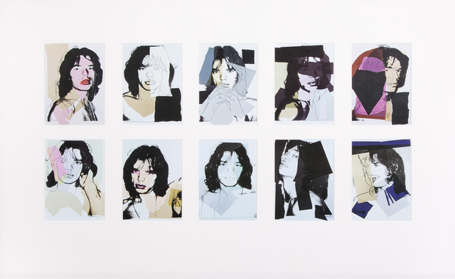 Andy Warhol, 'Mick Jagger Announcement Cards', 1975, Julien's Auctions