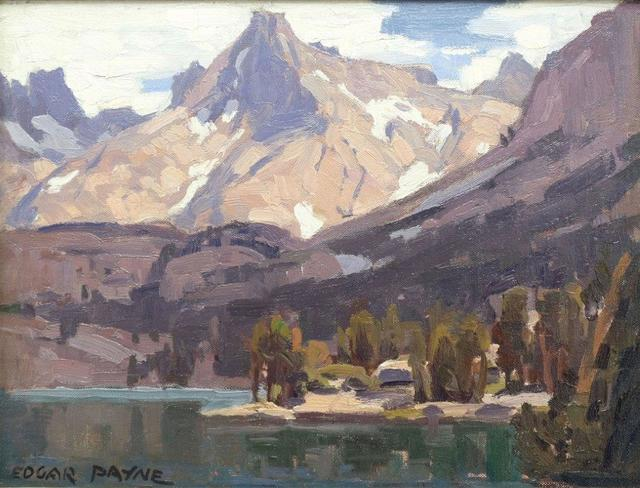 , 'Sierra Mountain Lake,' Unknown, Addison Rowe Gallery