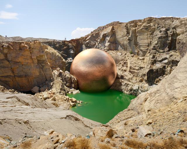 , 'Nabebeep South Mine, Nabebeep (1882 - 2000), 302,791.65 tonnes of copper extracted,' 2014, Gallery MOMO