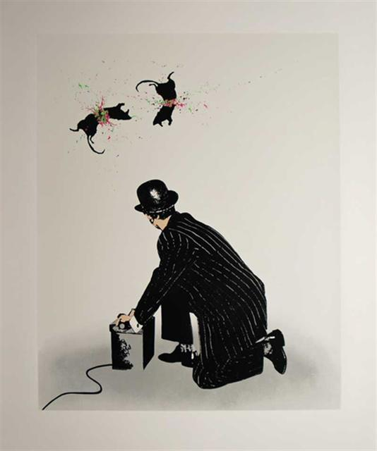 , ' Ratatouille,' 2007, Graffik Gallery / Banksy Editions
