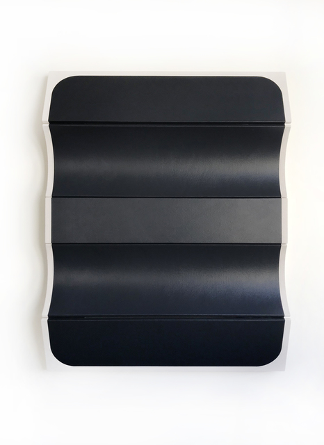 , 'Untitled Blunted Black,' 2018, g.gallery