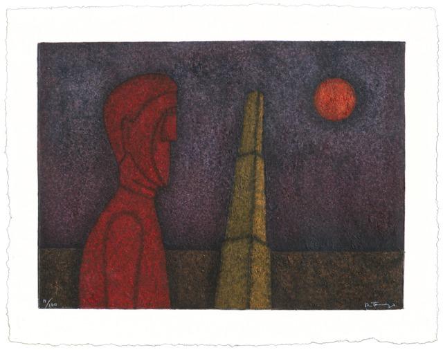 , 'Figura en Roja,' 1989, Zane Bennett Contemporary Art