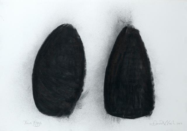 David Nash, 'Two Eggs', 2003, Annely Juda Fine Art