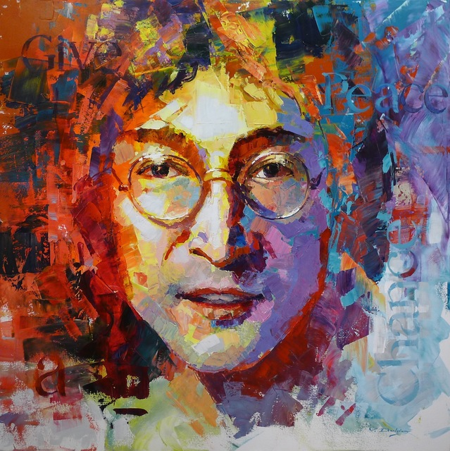 , 'John Lennon,' , Hazelton Fine Art Galleries