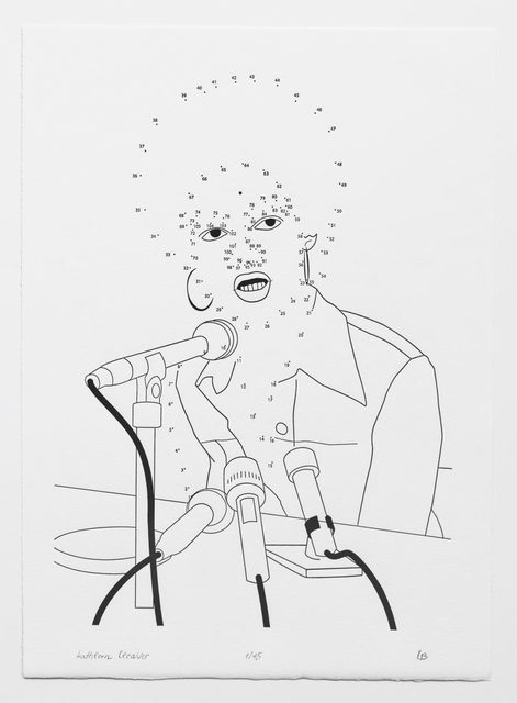 , 'Connect the Dots: Kathleen Cleaver,' 2019, Planthouse
