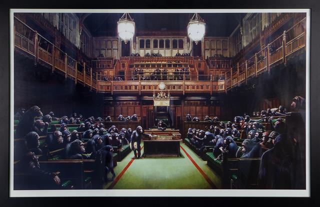 Banksy, 'Monkey Parliament', 2009, Tanya Baxter Contemporary