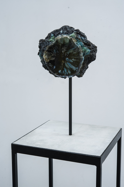 , 'Problematica (Foil Geode),' 2015, Reynolds Gallery