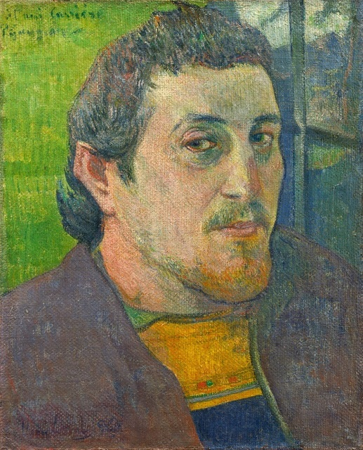 , 'Self Portrait Dedicated to Carriere,' 1888-1889, Seattle Art Museum