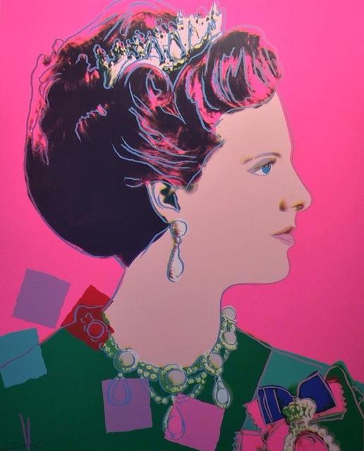 Andy Warhol, 'Queen Margrethe II of Denmark (FS II.345)', 1985, Revolver Gallery