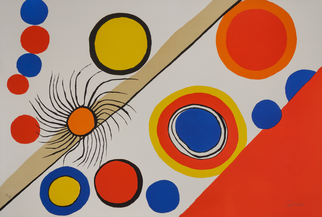 Alexander Calder, 'Nid d'araignee (Spider's Nest)', 1975, Hindman