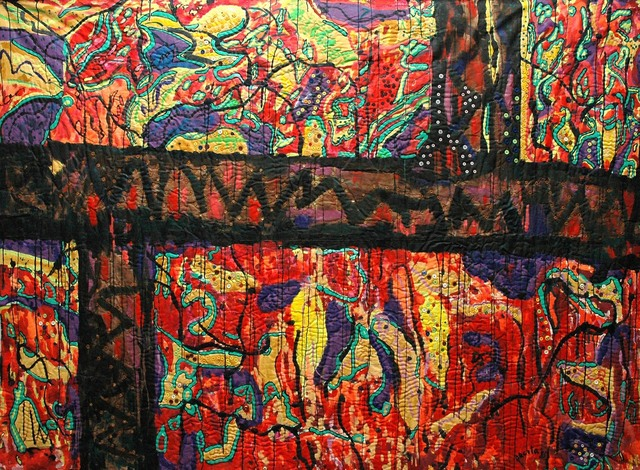 , 'Sampaloc walls,' 1985, Pacita Abad Art Estate