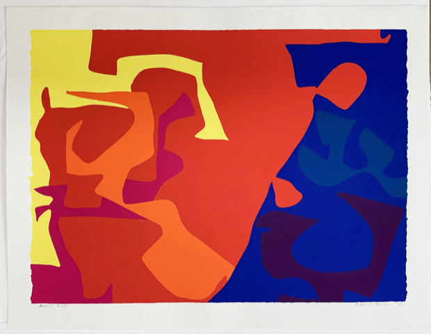 Patrick Heron, 'January 1973, Plate 5', 1973, Dellasposa