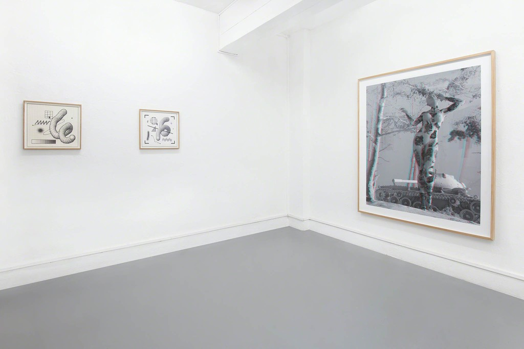 The Wrong Club - Installation view: Arno Beck, Tim Berresheim