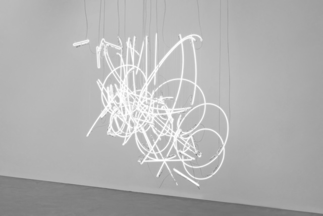 , 'Neon Forms (after Noh X),' 2018, White Cube