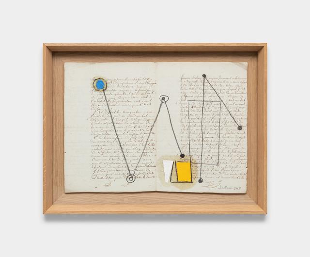 Julio Villani, 'st', 2018, Galeria Raquel Arnaud
