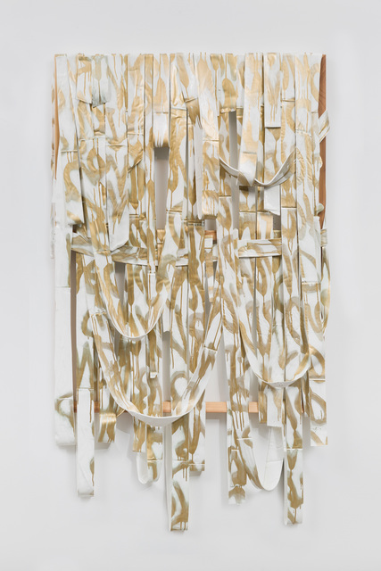 , 'WEave Painting (Word),' 2015, Edward Cella Art and Architecture