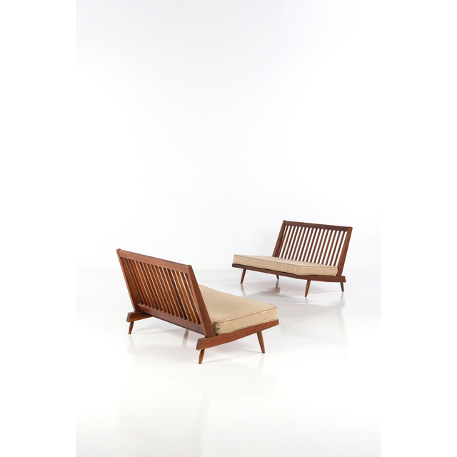 George Nakashima, 'Pair Of Sofas', 1962, PIASA