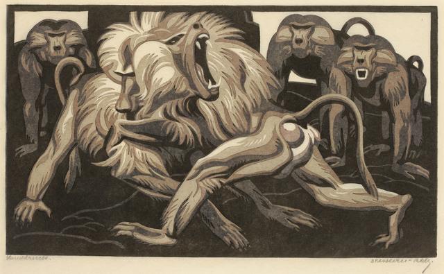 Norbertine Bresslern-Roth, 'Battle', 1930, Galerie Kovacek & Zetter