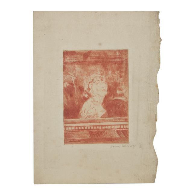 James Ensor, 'Buste', 1887, Freeman's